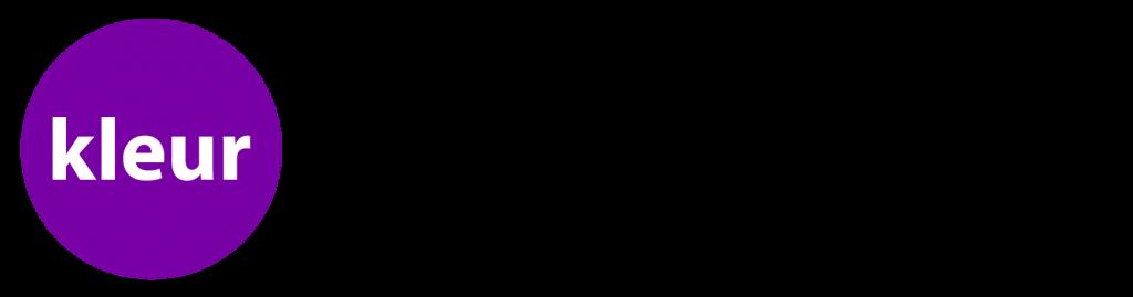 Kleur Academie woord beeld logo