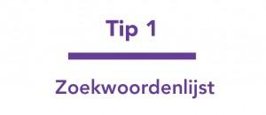SEO Tips - Tip 1