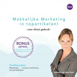 E-book makkelijke marketing aangepast voorkant