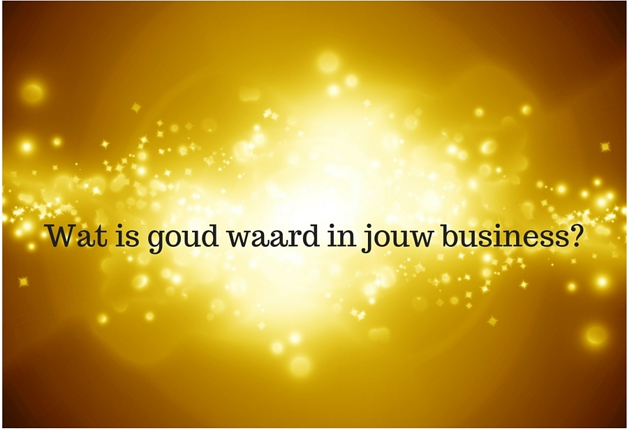 Wat is goud waard in jouw business