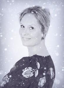Juliette in de sneeuw