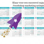 Marketing actieplan kalender